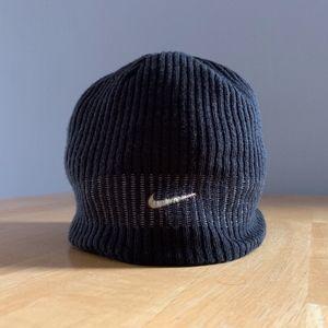Nike Swoosh Reversible Knit Beanie Skull Cap